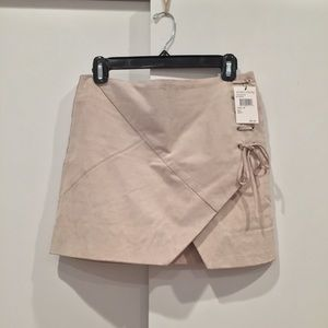 BLANKNYC Suede Mini Skirt, 26 (new with tags)